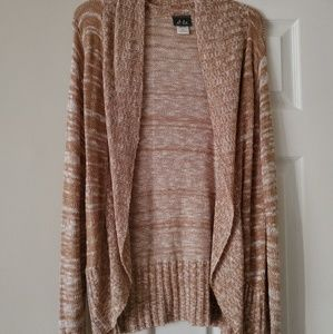 Open Front Seasonal Cardigan